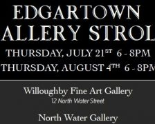 Night two of the Edgartown Gallery Stroll