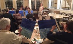 Pet Portrait Paint Night