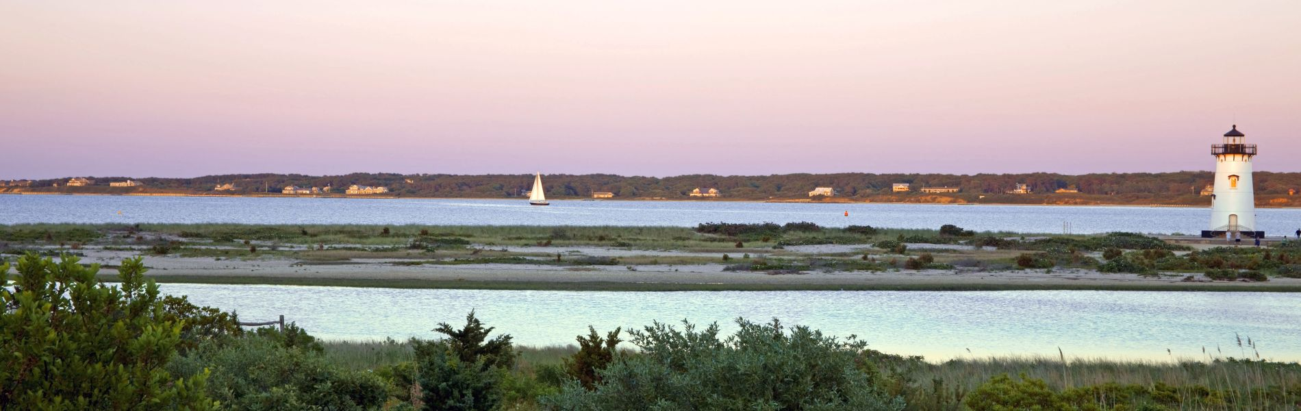 Living on Martha's Vineyard - View From the Captain's Cottages at Harbor View Hotel