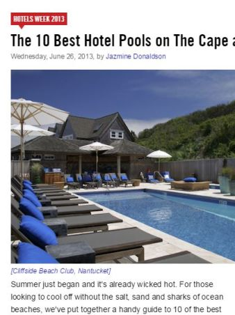 Curbed, Cape's Most Awesome Pools