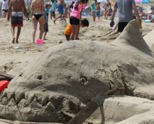 Sand Sculpture Contest South Beach